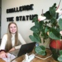 Joyce start haar stage bij Life Impact Company en Grit Academy